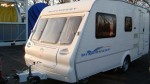We towed this caravan to Felixstowe docks for a customer in Korea - click to enlarge